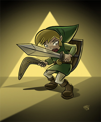 Link under the spotlight.v